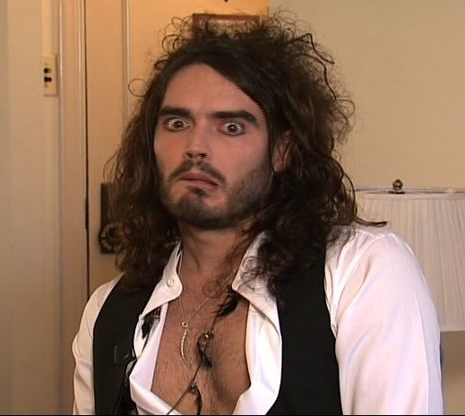 Hanging out with Russell Brand…